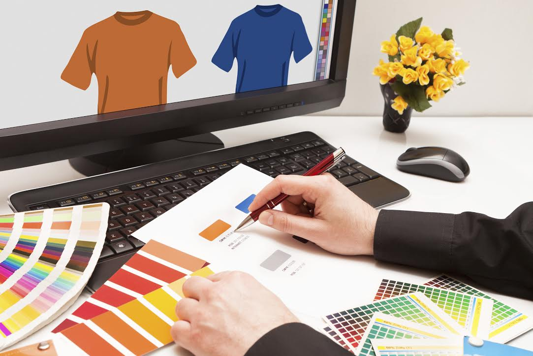 The difference between screen printing and digital heat for Digital blueprint maker