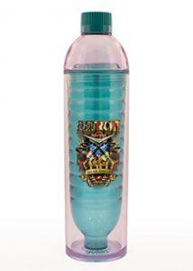 plastic decoration water bottle